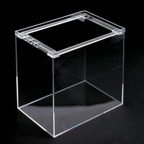 ガラス水槽とアクリル水槽